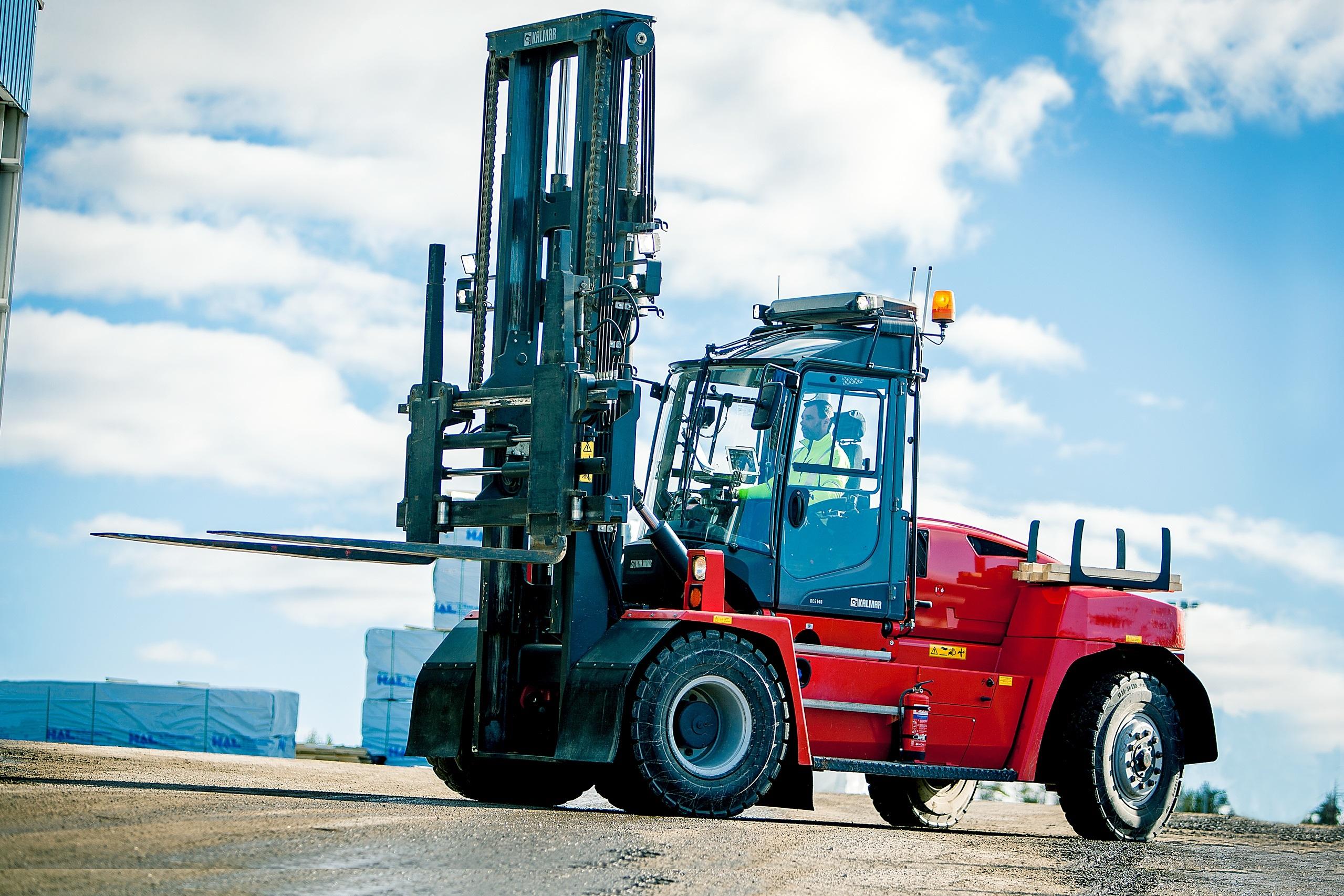 New Kalmar Lift Truck